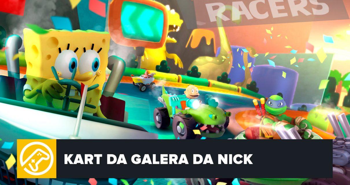 NICKELODEON KART RACERS CHEGA EM OUTUBRO – Blog Joinville