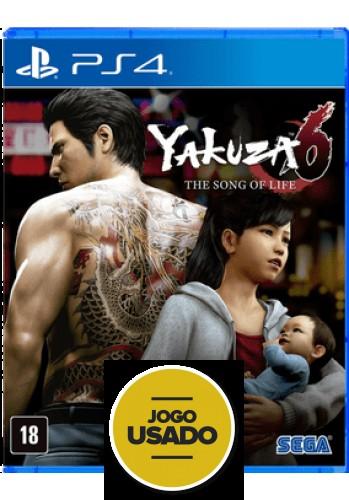 Yakuza 6 - The song of life - PS4 (USADO)
