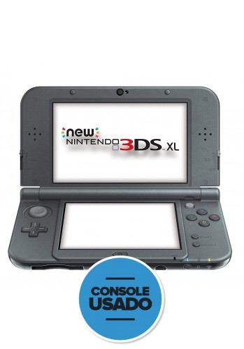 New Nintendo 3DS XL Preto - (usado)