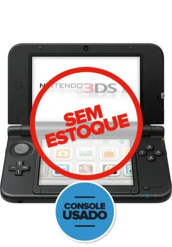 Nintendo 3DS XL Preto  (Usado)