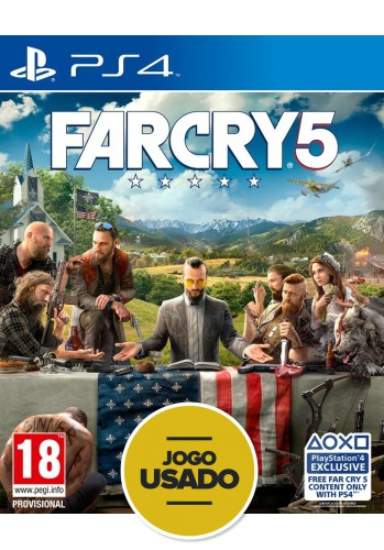 Far Cry 5 - PS4  (Usado)