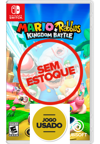 Mario + Rabbids: Kingdom Battle - Switch (Usado)