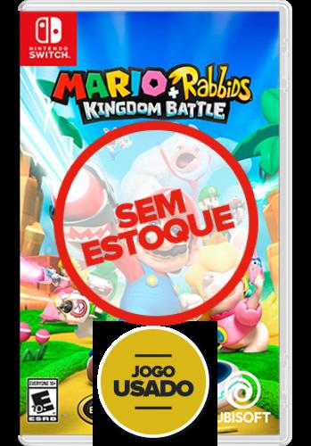 Mario + Rabbids: Kingdom Battle - Switch (Usado)