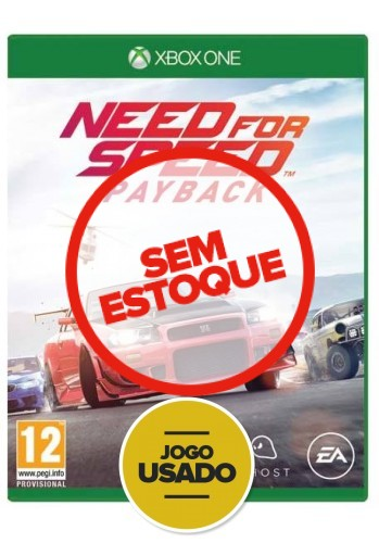 Need for Speed Payback - XBOX ONE ( Usado )