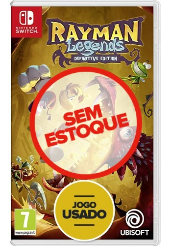 Rayman legends - Switch (Usado)