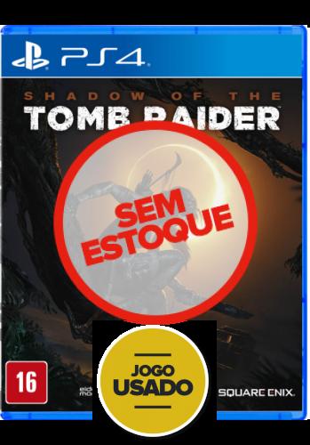 Shadow of the Tomb Raider - PS4 (Usado)