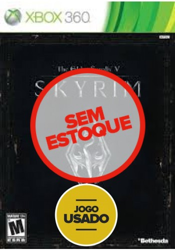 The Elder Scrolls V: Skyrim (seminovo) - Xbox 360