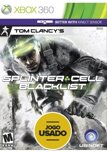Splinter Cell: Blacklist - XBOX 360 ( Usado )