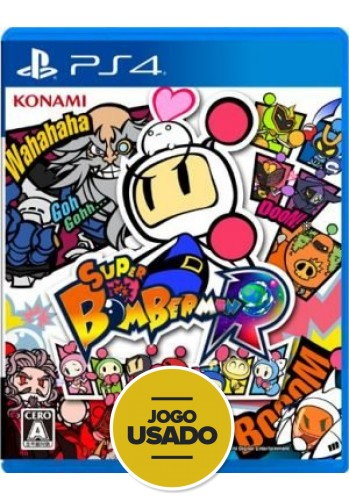 Super Bomberman R - PS4 (Usado)