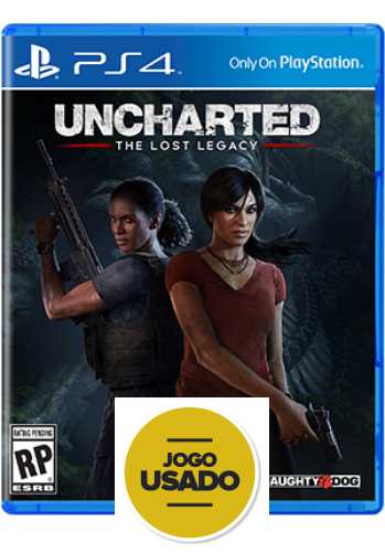 Uncharted: The Lost Legacy - PS4 ( Usado )