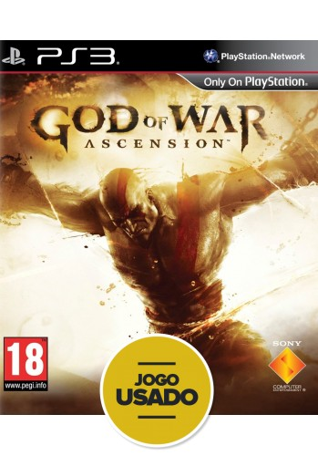 God of War Ascension - PS3 ( Usado )