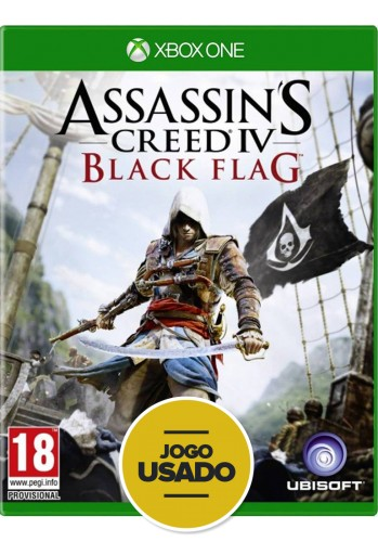 Assassin's Creed Black Flag (seminovo) - Xbox One