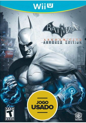 Batman Arkham City: Armored Edition  - WiiU ( Usado )