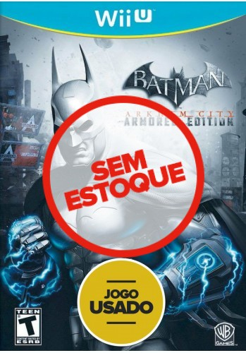 Batman Arkham City: Armored Edition  - WiiU ( Usado )