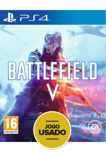 Battlefield V - PS4 (Usado)