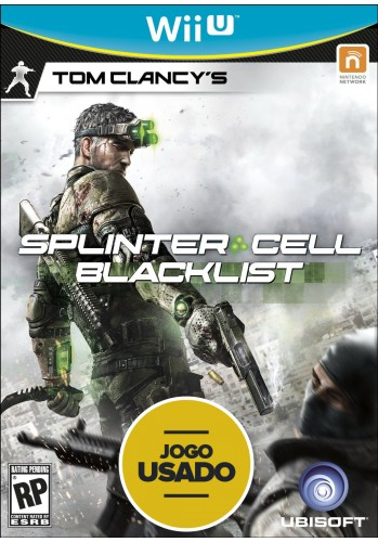 Splinter Cell Blacklist - WiiU ( Usado )