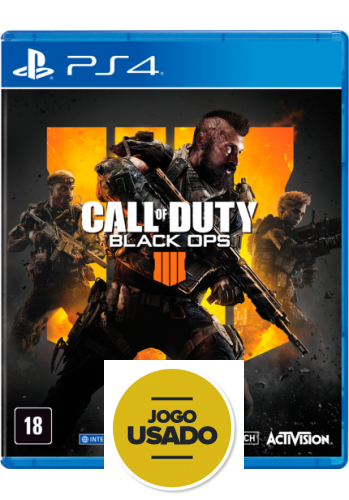 Call Of Duty Black Ops 4 - PS4 (Usado)