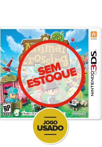 Animal Crossing New Leaf - 3DS (Usado)