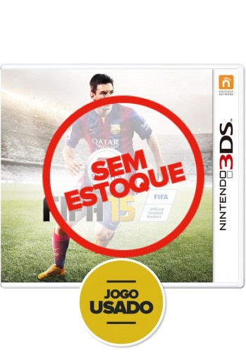 FIFA 15 (seminovo) - 3DS
