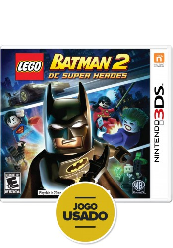 Lego Batman 2 - 3DS ( Usado )