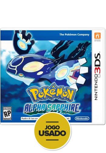 Pokémon Alpha Sapphire - 3DS (Usado)