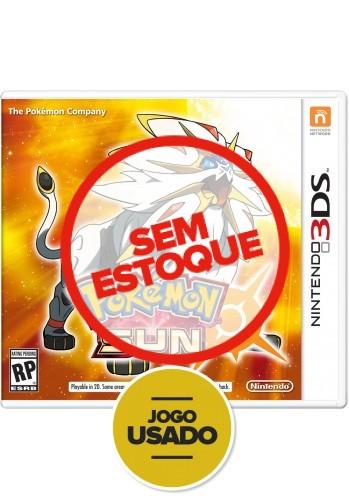 Pokémon Sun - 3DS ( Usado )