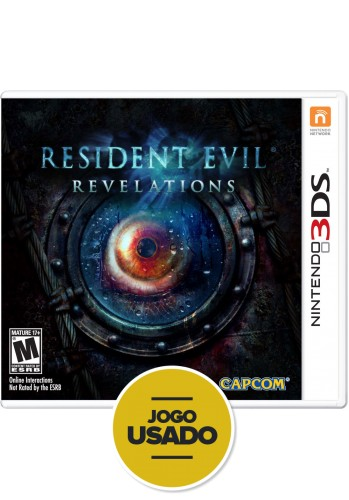 Resident Evil - Revelations (seminovo) - 3DS