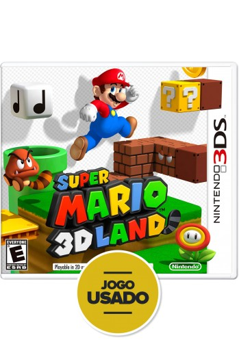 Super Mario 3D Land - 3DS (Usado)