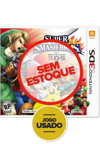 Super Smash Bros - 3DS ( Usado )