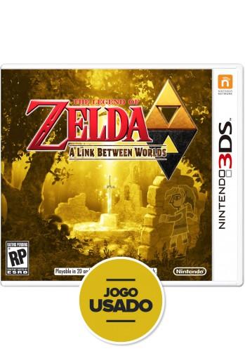 The Legend of Zelda: A Link Between Worlds - 3DS ( Usado )