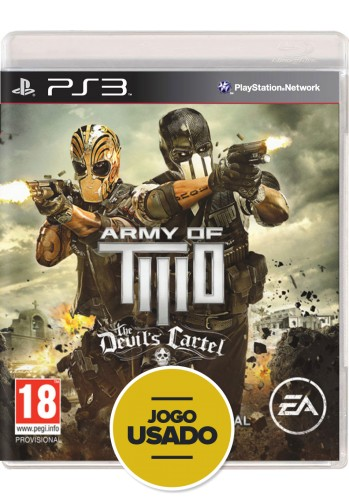 Army of Two: The Devil's Cartel - PS3 (Usado)
