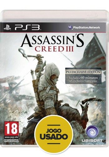 Assassin's Creed 3 (seminovo) - PS3