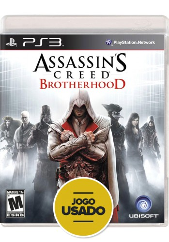 Assassin's Creed Brotherhood (seminovo) - PS3