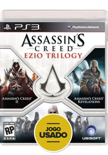Assassin's Creed: Ezio Trilogy (seminovo) - PS3