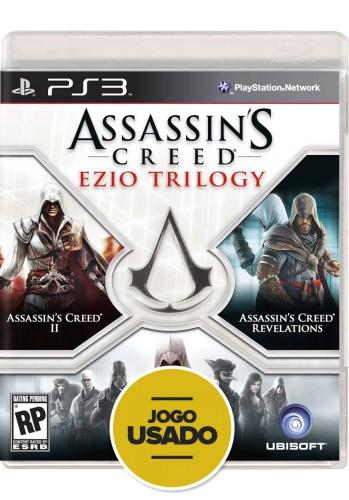 Assassin's Creed: Ezio Trilogy (seminovo) - PS3