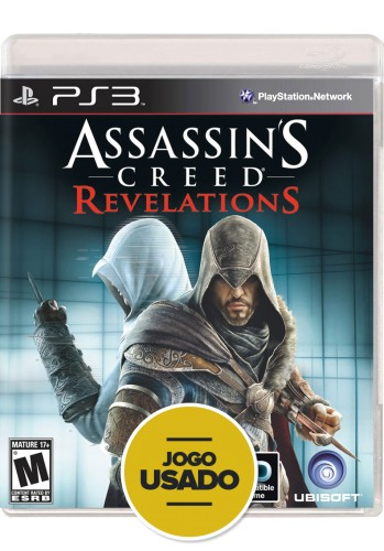 Assassin's Creed Revelations (seminovo) - PS3