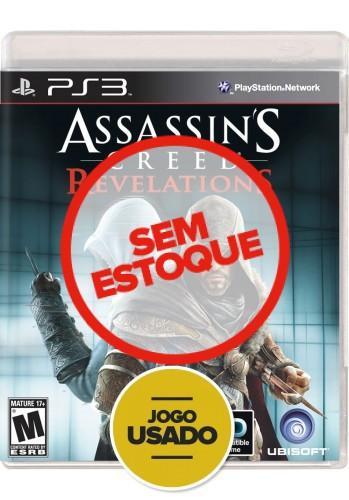 Assassin's Creed Revelations (seminovo) - PS3