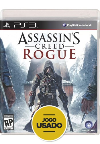 Assassin's Creed Rogue (seminovo) - PS3