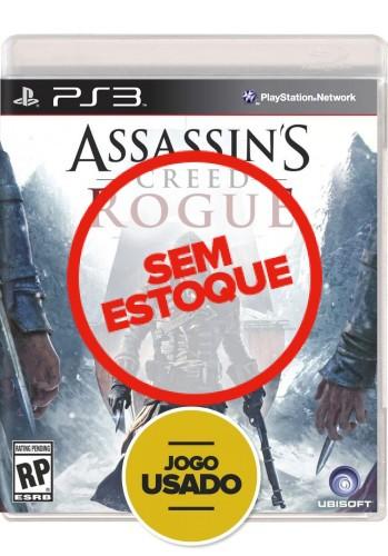 Assassin's Creed Rogue (seminovo) - PS3