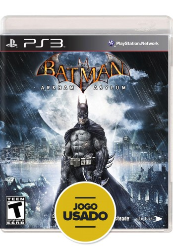 Batman Arkham Asylum (seminovo) - PS3