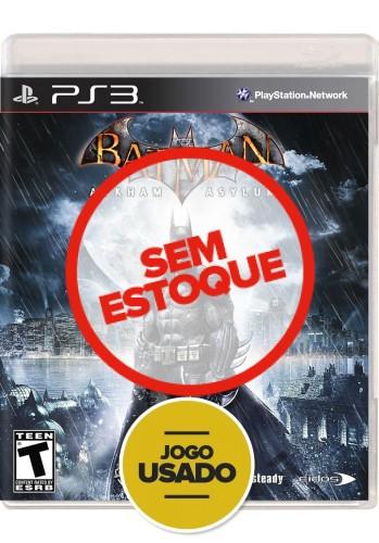 Batman Arkham Asylum (seminovo) - PS3