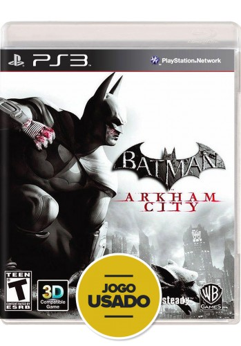 Batman Arkham City (seminovo) - PS3