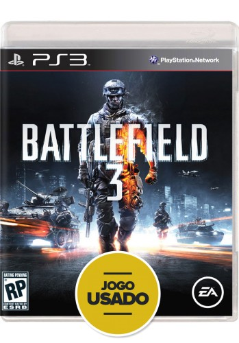 Battlefield 3 (seminovo) - PS3