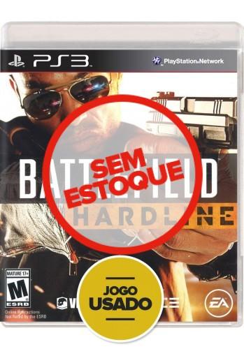 Battlefield Hardline (seminovo) - PS3