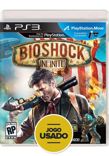 Bioshock: Infinite (seminovo) - PS3