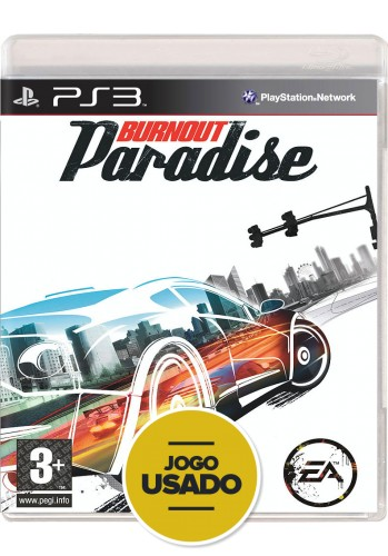Burnout Paradise (seminovo) - PS3