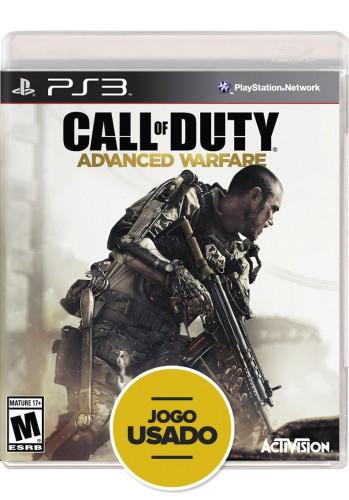 Call of Duty: Advanced Warfare (seminovo) - PS3