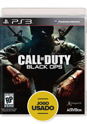 Call of Duty: Black Ops (seminovo) - PS3