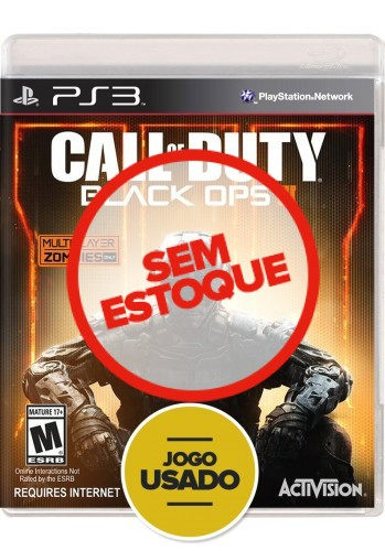 Call of Duty: Black Ops 3 (seminovo) - PS3