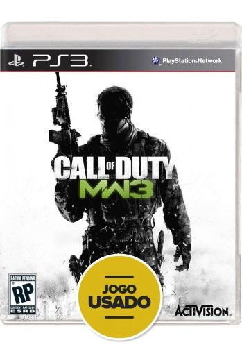 Call of Duty: Modern Warfare 3 (seminovo) - PS3